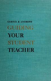 Guiding your student teacher