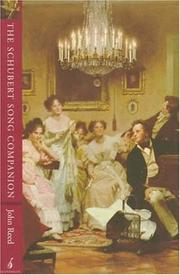 The Schubert song companion by Reed, John