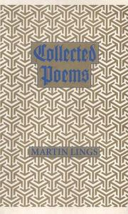 Collected Poems by Martin Lings