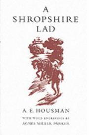 A Shropshire Lad by A. E. Houseman
