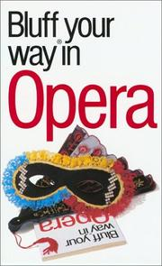 The bluffer's guide to opera PDF