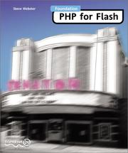 Foundation PHP for Flash by Steve Webster