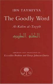 al- Kalim al-ayyib by Ibn Taymiyyah