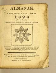 Almanak, u Ordenacion del año de 1828 (que es bisiesto) y decimo-nono de nuestra libertad politica