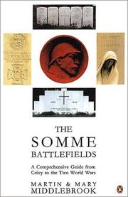 Somme Battlefields by Martin Middlebrook