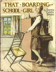 That boarding-school girl by Dorita Fairlie Bruce
