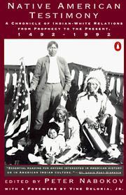 Native American Testimony PDF