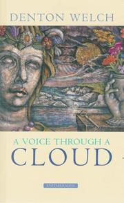 A voice through a cloud by Denton Welch