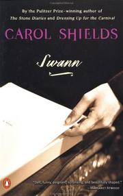 Swann by Carol Shields