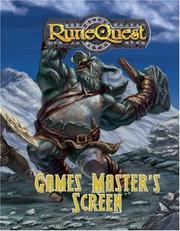 RuneQuest - Game Master's Screen PDF