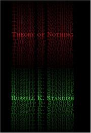 Theory of Nothing PDF