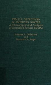 Female detectives in American novels
