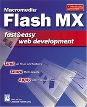 Macromedia Flash MX Fast & Easy Web Development PDF