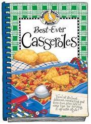 Best Ever Casseroles (Gooseberry Patch) PDF