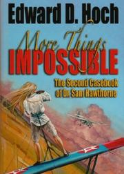 More Things Impossible by Edward D. Hoch