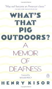 What's that pig outdoors? PDF