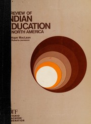 A review of Indian education in North America
