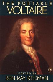 Cover of: The portable Voltaire by Voltaire