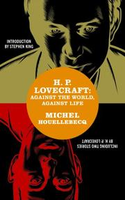 H.P. Lovecraft by Michel Houellebecq