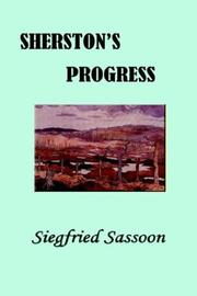 Sherston's progress by Siegfried Sassoon