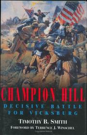 CHAMPION HILL by Timothy B. Smith