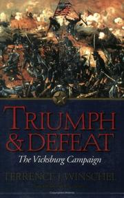 Triumph & Defeat by Terrence J. Winschel