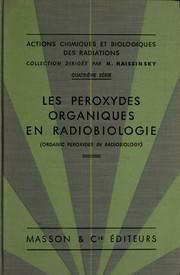 Actions chimiques et biologiques des radiations