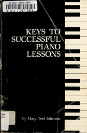Keys to successful piano lessons