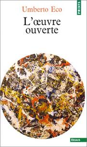 Opera Aperta by Umberto Eco