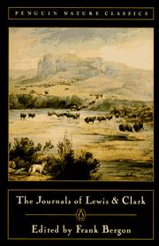 Original journals of the Lewis and Clark Expedition by Meriwether Lewis