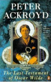 The last testament of Oscar Wilde PDF