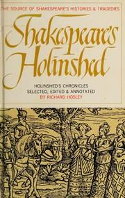 Shakespeares Holinshed