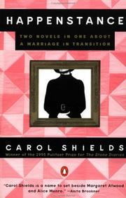 Happenstance by Carol Shields