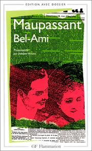 Cover of: Bel- Ami by Guy de Maupassant, Adeline Wrona