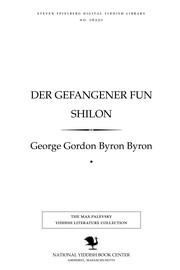 Der gefangener fun Shilon