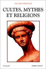 Cultes, mythes et religions by Salomon, Louis Rev.