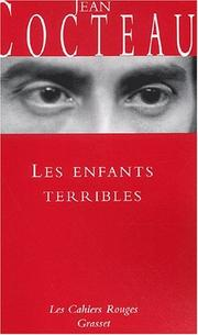 Cover of: Les Enfants terribles by Jean Cocteau