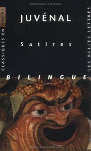 Cover of: Satires by Juvenal., Olivier Sers