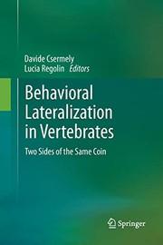 Behavioral Lateralization in Vertebrates