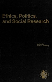 Ethics, politics, and social research