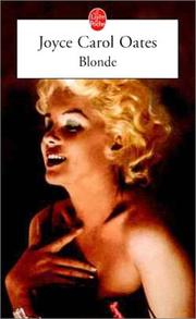 Cover of: Blonde by Joyce Carol Oates, Claude Seban