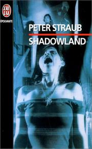 Shadowland by Peter Straub