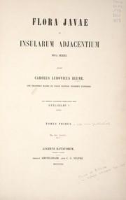Flora Javae et insularum adjacentium