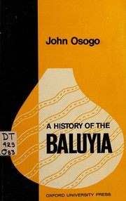 A history of the Baluyia.