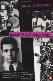 Vanity of Duluoz by Jack Kerouac