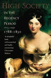 High Society in the Regency Period PDF