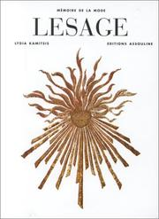 Lesage by Lydia Kamitsis