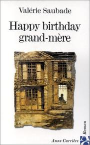 Happy birthday grand-mere PDF