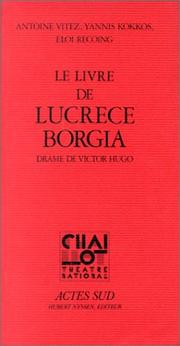Lucrce Borgia by Victor Hugo