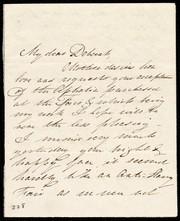 [Letter to] Dear Lucia & Emma